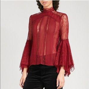 ALICE & OLIVIA IVY LACE TOP!!